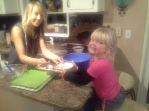 Rina and Megan