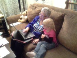 grandma and Rina